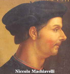 "Niccolo Machiavelli : Author of ""The Prince"", an early treatise on larp design"